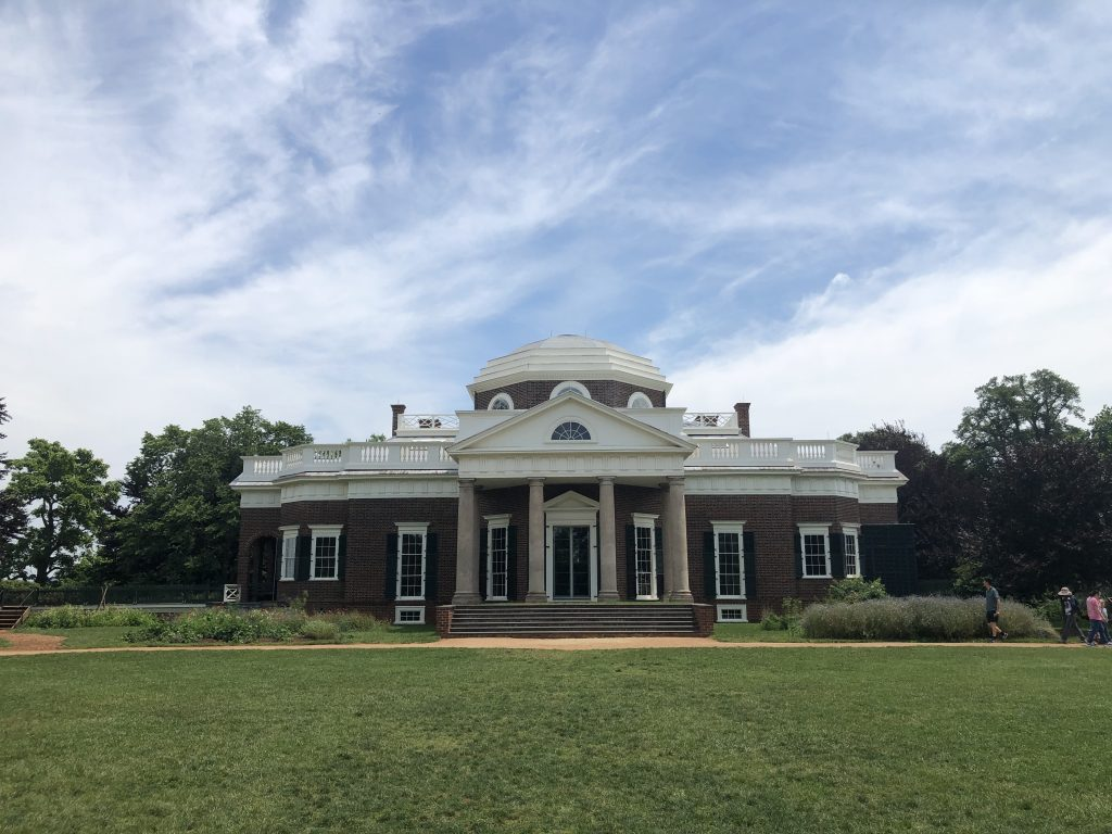 Monticello (Thomas Jefferson's residence)